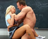 Cute Blonde Emily Austin Fucks With Her Coach