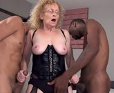 Massive Big Black Cocks Creampie for Cougar