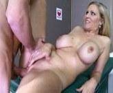 Busty blonde Julia Ann is one hot nurse