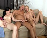 His mom toying while dad fucking his young girlfriend