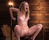 Fucking Machines – Every ounce of Squirt drained from Mona Wales