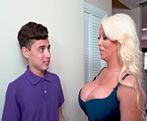 Provacative MILF Stepmom Alura Jenson and Juan El Caballo Loco