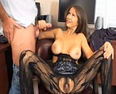 Busty stepmother Hot Wife Rio is a porn actress and jerks son