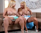 XXX Licking Pussy – Amazing lesbians with big tits Dolly Fox and Kyra Hot