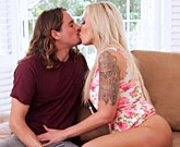 Nina Elle and Tyler Nixon – Cheating Stepmom Blackmailed by Son