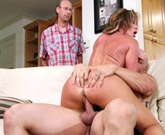 Horny MILF Farrah Dah fucks in front of her husband