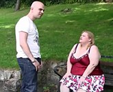 XXX BBW – Plumper street hooker fucks with bald man